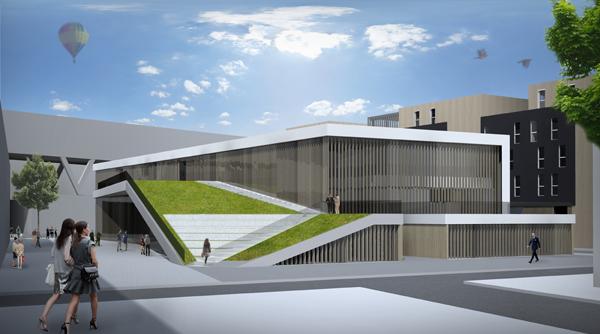 Projet de fin d tude un conservatoire st fons mrzl for Projet d architecture
